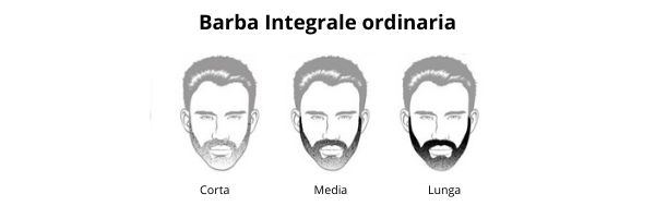 Barba integrale ordinaria